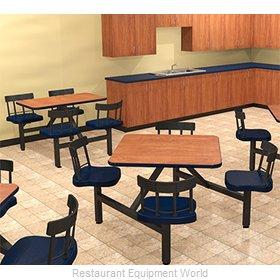 Plymold JUWL002DEQUADA Cluster Seating Unit, Indoor