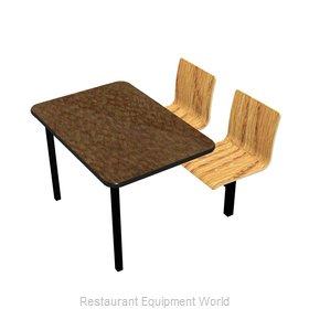 Plymold JUWL002VELEADA Cluster Seating Unit, Indoor