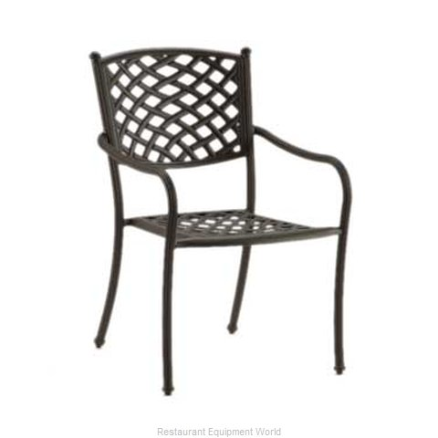 Plymold MD8751100-0440 Chair Armchair Stacking Outdoor