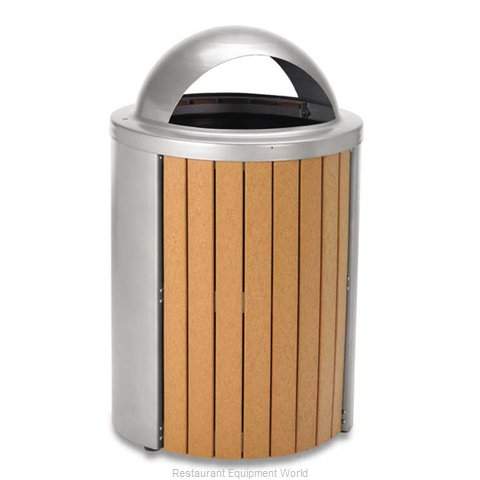 Plymold TR35DT Waste Receptacle Outdoor