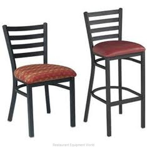 Premier Hospitality Furniture 139-BK-B Metal Chair