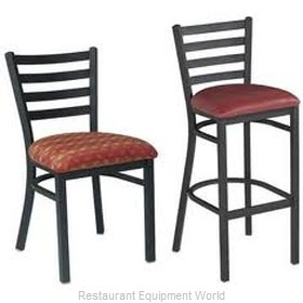 Premier Hospitality Furniture 139-BK-G Metal Chair