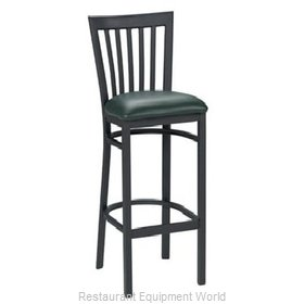 Premier Hospitality Furniture 160-BH-BK-TB Metal Bar Stool