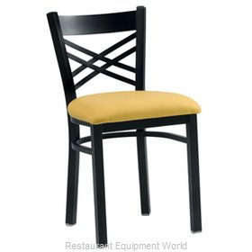 Premier Hospitality Furniture 230-BK-G Metal Chair