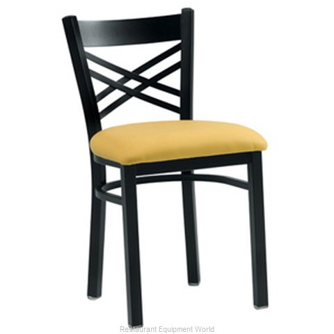 Premier Hospitality Furniture 230-BK-SB Metal Chair (Magnified)