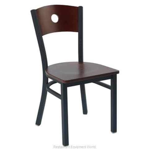 Premier Hospitality Furniture 250-BK-C-SB Metal Chair (Magnified)