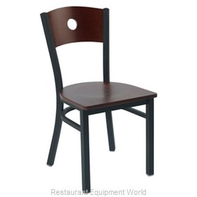 Premier Hospitality Furniture 250-BK-M-G Metal Chair