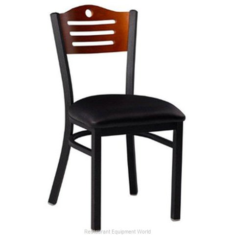 Premier Hospitality Furniture 252-BK-C-SB Metal Chair (Magnified)