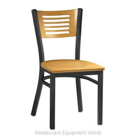 Premier Hospitality Furniture 255-BK-N-G Metal Chair