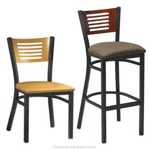 Premier Hospitality Furniture 255-BK-NN Metal Chair (Magnified)