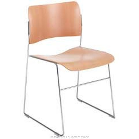 PS Furniture 404-W Chair Side Stacking Indoor