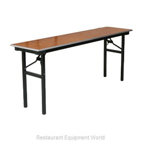 PS Furniture 600-1896A Folding Table, Rectangle