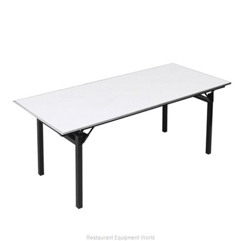 PS Furniture 600-3030A-PAD Folding Table Square