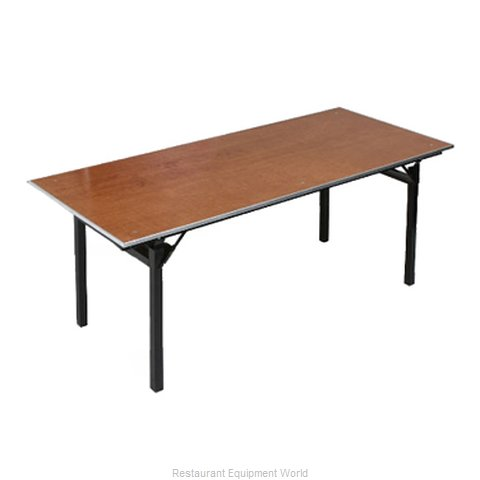 PS Furniture 600-3672A Folding Table, Rectangle