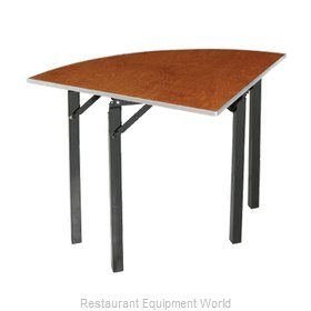 PS Furniture 600-36QTA Folding Table, Round