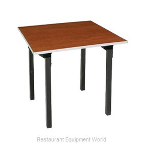PS Furniture 600-4848A Folding Table, Square