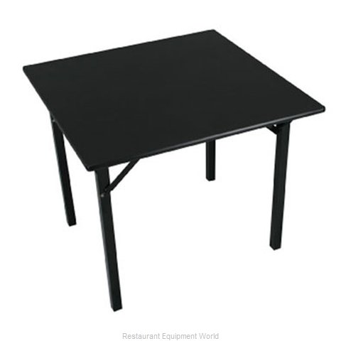 PS Furniture 600-48SQ-LS Folding Table Square (Magnified)
