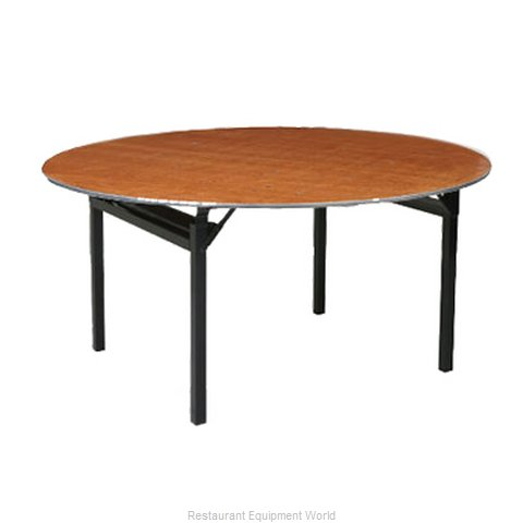 PS Furniture 600-66DIA Folding Table Round