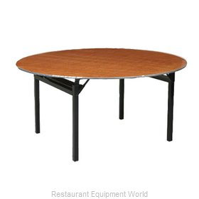 PS Furniture 600-72DIA Folding Table, Round
