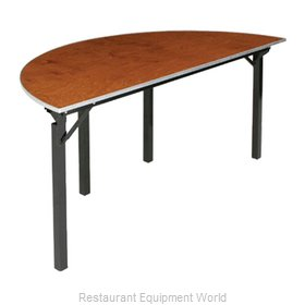 PS Furniture 600-72SCA Folding Table, Round