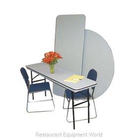 PS Furniture B1896 Folding Table, Rectangle