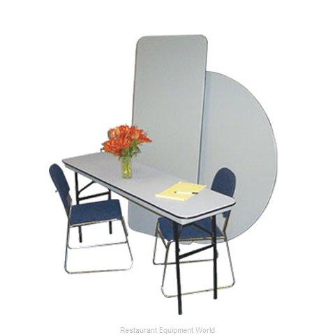 PS Furniture B2460 Folding Table, Rectangle