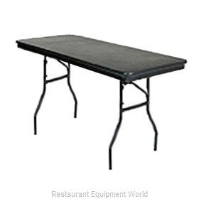 PS Furniture B3060 Folding Table, Rectangle