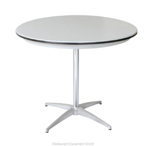 PS Furniture B30RD-SK Table Dining Height Indoor