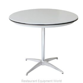 PS Furniture B30RD-SK Table, Indoor, Dining Height