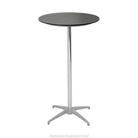 PS Furniture B30RD-SK42 Table, Indoor, Bar Height