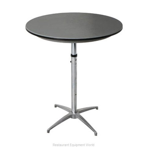 PS Furniture B30RD-SKADJ Table Adjustable Height Indoor (Magnified)