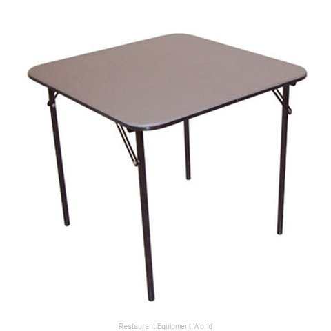 PS Furniture B3636-SL Folding Table Square