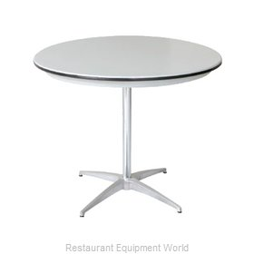 PS Furniture B36RD-SK Table, Indoor, Dining Height