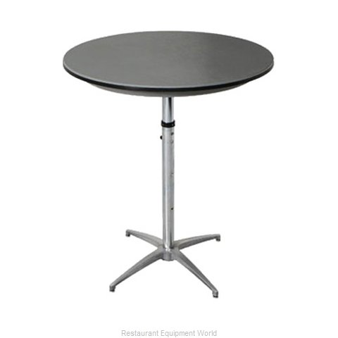PS Furniture B36RD-SKADJ Table Adjustable Height Indoor (Magnified)