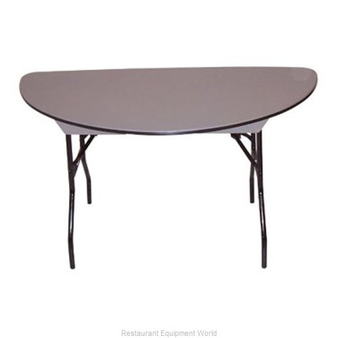 PS Furniture B60SC-SW Folding Table Round