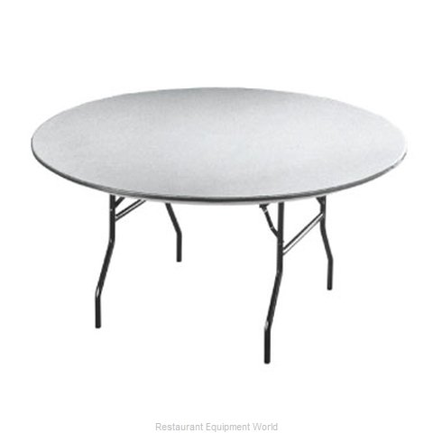 PS Furniture B72RD-SW Folding Table Round