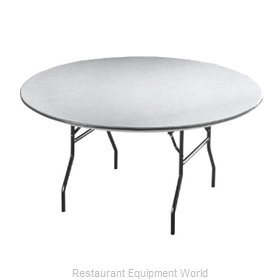 PS Furniture B72RD Folding Table, Round