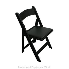 PS Furniture C450BL Classic Wedding Chair Black