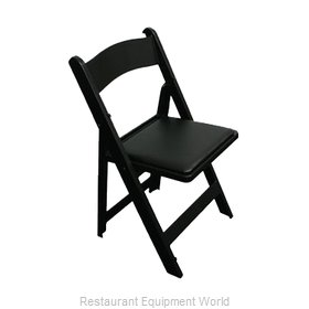 PS Furniture C450BLP Chair, Folding, Outdoor