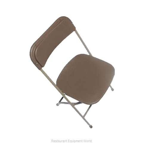 PS Furniture C600BRW/NTR Chair, Folding, Outdoor