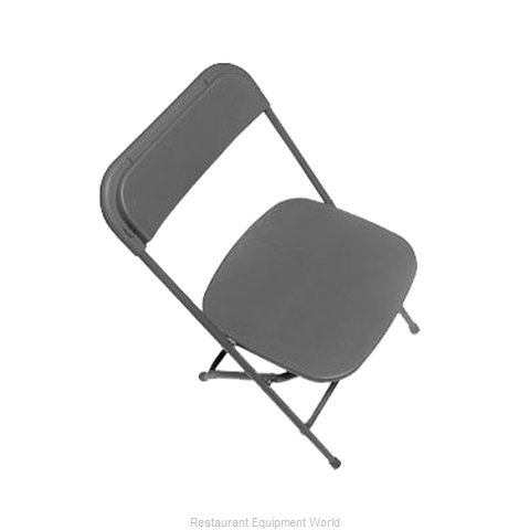 PS Furniture C600MGR/GR Chair, Folding, Outdoor