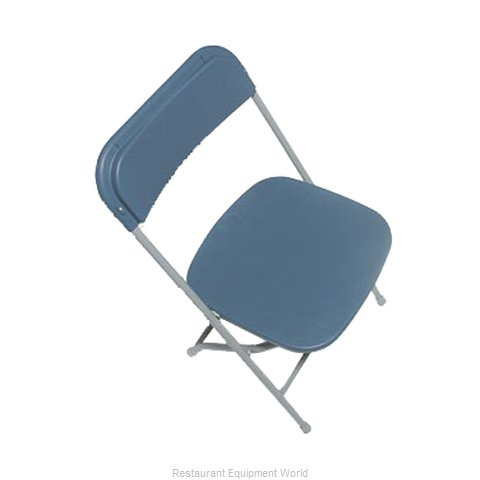 PS Furniture C600SBL/GR Chair, Folding, Outdoor