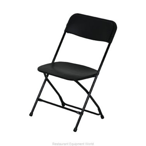 PS Furniture C600W-BLK/BL Chair Folding Outdoor