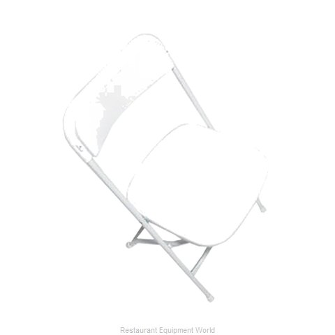 PS Furniture C600WWH/WH Chair, Folding, Outdoor