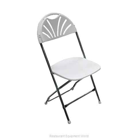 PS Furniture C650WWH/CH Chair, Folding, Outdoor