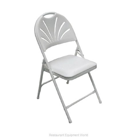 PS Furniture C700WH/WH Chair Folding Outdoor