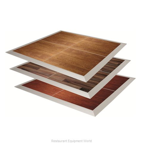 PS Furniture DF18X18SBW-CAM Dance Floor