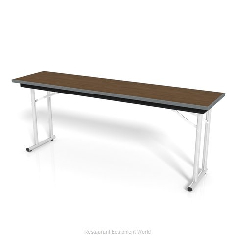 PS Furniture DS301896 Folding Table, Rectangle