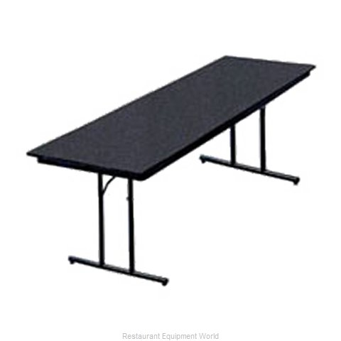 PS Furniture DS303072-MX Folding Table, Rectangle