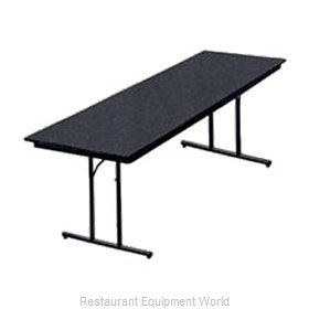 PS Furniture DS303072 Folding Table, Rectangle